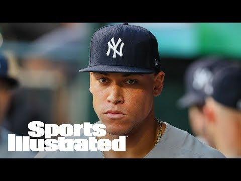 Aaron Judge Breaks MLB Record By Striking Out 33rd Consecutive Game | SI Wire | Sports Illustrated