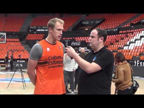 Video Interview, Game 3: Luke Sikma, Valencia Basket