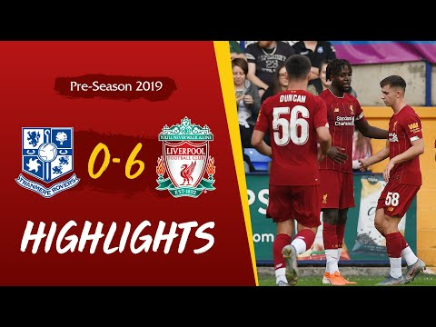 Highlights: Tranmere 0-6 Liverpool | Reds Kick Off Pre-season With Six Goals