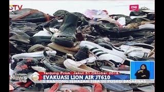 Video Tumpukan Sepatu Korban Lion Air JT 610 yang Berhasil Dikumpulkan - BIS 31/10 MP3, 3GP, MP4, WEBM, AVI, FLV Maret 2019