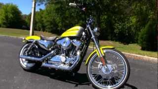 6. New 2013 Harley-Davidson XL1200V Sportster Seventy-Two in Lime Gold Flake