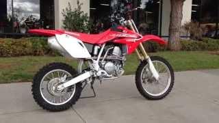 8. 2013 Honda CRF150R Red