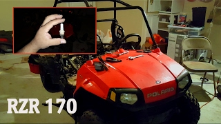7. Polaris RZR 170 | Where is the Spark Plug Located