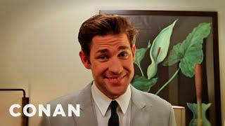 Celebrity Flirt Roulette With John Krasinski, Seth Green, Emmy Rossum And More! - CONAN on TBS