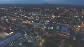 Longford Ireland  City new picture : NIGHT FLIGHT OVER LONGFORD IRELAND DJI PHANTOM 4