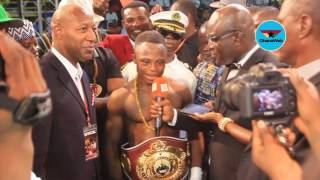 Chacon gave me a tough fight but God was on my side – Isaac Dogboe