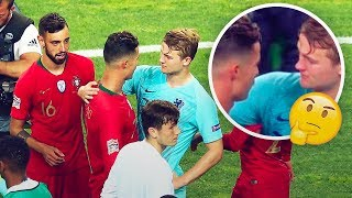 What Cristiano Ronaldo really told De Ligt after the Nations League final - Oh My Goal