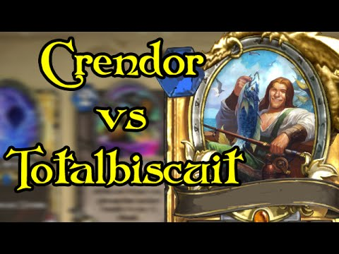 crendor - Taking on TB with gimmick decks in Hearthstone! TB's channel: https://www.youtube.com/user/Totalhalibut ---wowcrendor links--- My Facebook Page: http://www.f...