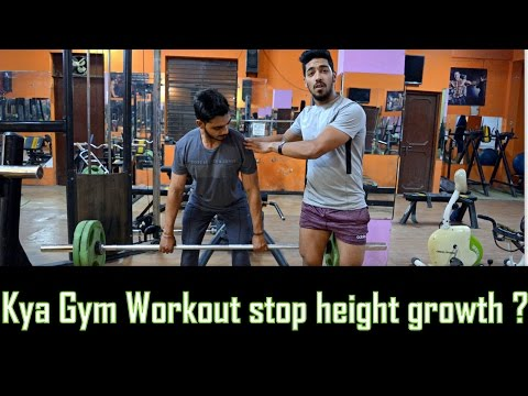 Does Gym Workout Stop your Height Growth (Men & Women)