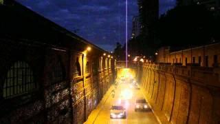 Túnel Arturo Illía - Ciudad de Rosario - Argentina - Time lapse
