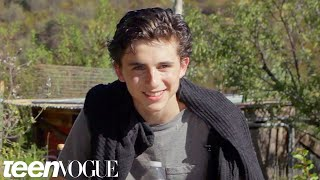 Nonton Timoth  E Chalamet On His Dream Roles And  Homeland    Teen Vogue Film Subtitle Indonesia Streaming Movie Download