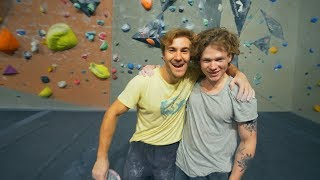 8A Team Fight by Eric Karlsson Bouldering