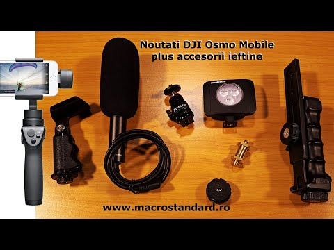 Noutati DJI Osmo Mobile, DJI GO plus accesorii ieftine