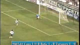 David Villas ersten 20 Tore für Real Saragossa