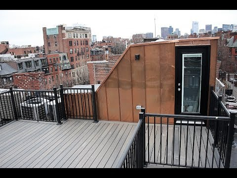 Timelapse Construction of Roof Deck in Boston using GoPro