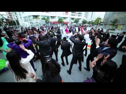 FLASH MOB Mariage de Ragis et Isaline - Dance : revelation -- BLACKMOTION