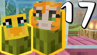 Minecraft: A Duck & A Cat ~ COUPLE OF PICKLES!!! - 17