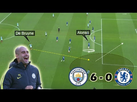 How Guardiola Destroyed Sarriball | Man City Vs Chelsea 6-0 | Tactical Analysis