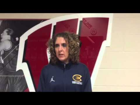 Coach Englund Recaps WBB Exhibition Game against the Badgers!