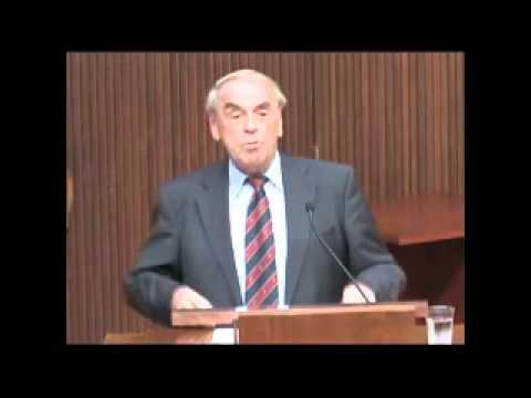 Vortrag von Jürgen Moltmann an der Emory University