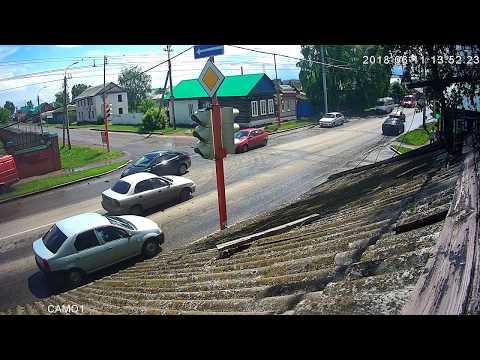 ДТП в Стерлитамаке на улице Пантелькина