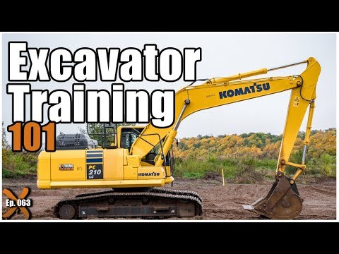 How to Operate an Excavator | Heavy Equipment Operator (ep. 063)