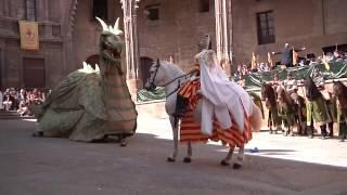 Alcañiz - 23 de abril - Vencimiento del Dragón