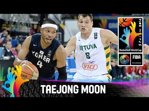 Korea - Check out the best plays by Taejong Moon during the tournament, where he scored an average of 10 points per game for Korea. The 2014 FIBA Basketball World Cup took place in Spain from 30...