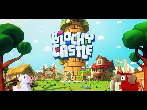 Blocky Castle gameplay