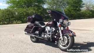6. Used 2007 Harley Davidson Electra Glide Classic Motorcycles for sale - Gainesville, FL