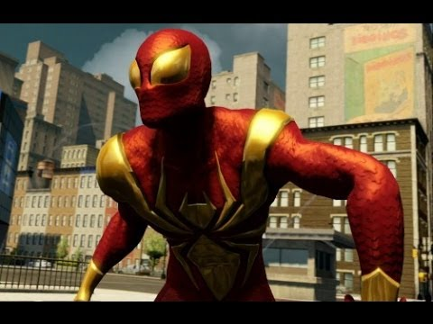 Video The Amazing Spider-Man 2 - Iron Spider Suit Showcase / Free Roam Gameplay download in MP3, 3GP, MP4, WEBM, AVI, FLV January 2017