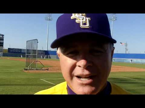 0 LSU Baseball Coach Paul Mainieri On The Final SEC Weekend