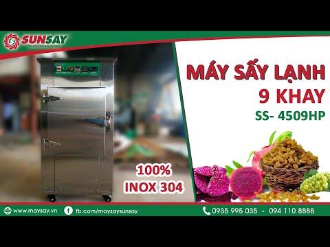 Máy sấy lạnh sấy thực phẩm SS-4509HP, Sấy khô trái cây, nông sản, dược liệu - Máy sấy SUNSAY