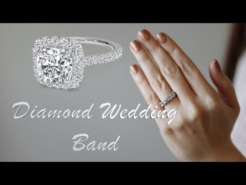 My diamond wedding band