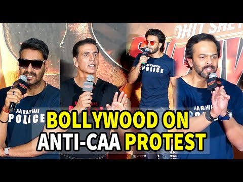 Bollywood ANGRY Reaction On Anti-CAA Protest in Delhi ! Akshay K, Ajay D, Ranveer, Rohit S