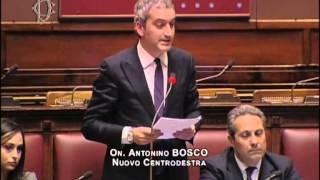 Intervento On. Bosco su giornata della memoria Nino Bosco Nino Bosco