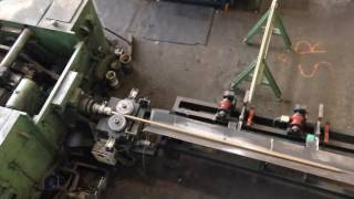 Available for sale: Drawing cutting straightening and chamfering line