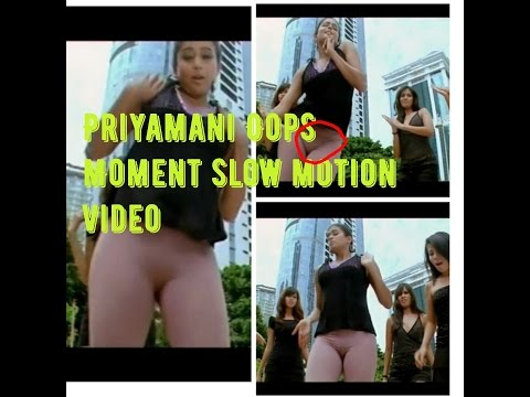 Priyamani Oops Moment slow motion video