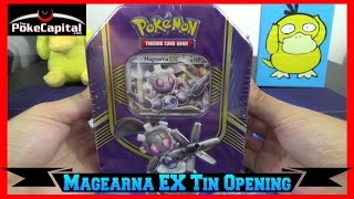 Pokemon Cards - Magearna EX Battle Heart Tin Opening by ThePokeCapital
