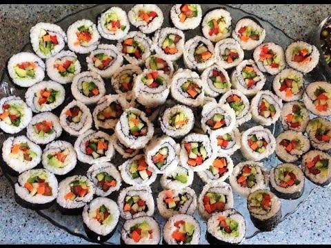 sushi vegano - ricetta
