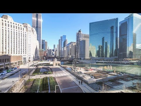 Tour a river-view one-bedroom at River North's new Wolf Point West