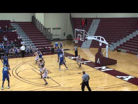 Alma College Men's Basketball vs. Finlandia University - December 21, 2011