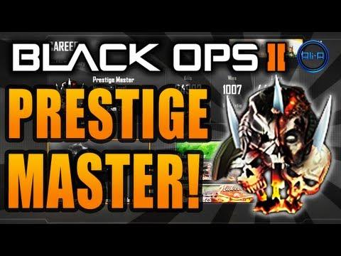 Black Ops 2 PRESTIGE MASTER - Ali-A Combat Record & Classes! - (Call of Duty Multiplayer)