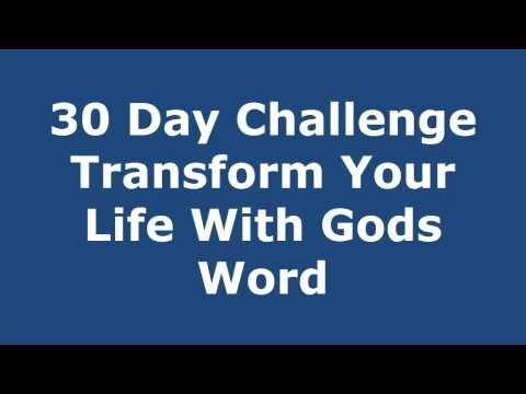 30 Day Biblical Affirmations