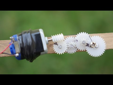 Make a high torque gear motor
