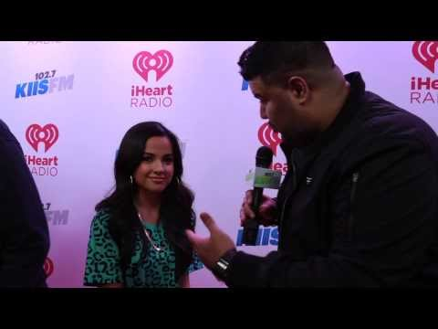 Becky G. on the Red Carpet at KIIS-FM's Jingle Ball 2013