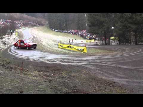 Jännerrallye 2014 Crash und Highlights