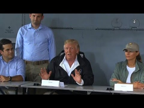 President Trump Blames Puerto Rico For Running Up His Budget