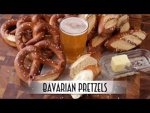 Bavarian Pretzels - Laugenbrezel & Laugenstangen