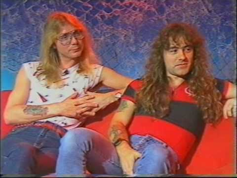 Iron Maiden 1985 Interview Monsters of Rock Show Sky Channel